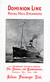1899-05-18 Ships List for the S.S. New England
