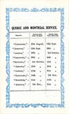 Quebec And Montreal Service