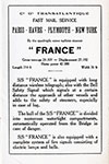 Information on the S.S. France
