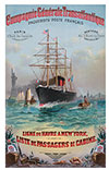 1887-02-05 Voyage of the S.S. La Bretagne