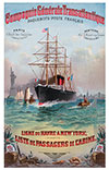 1887-02-05 Voyage of the S.S. La Champagne