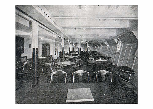 "The Third-Class Ladies Social Hall on S. S. ""Albert Ballin"""