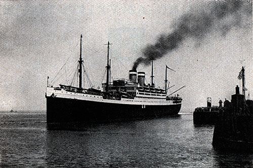 Departure of the S.S. Deutschland from Cuxhaven