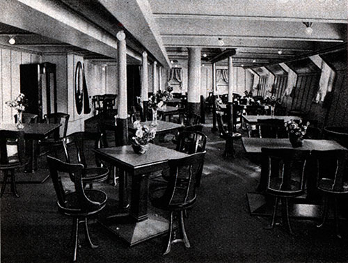 The Third-Class Ladies Saloon on S.S. Deutschland