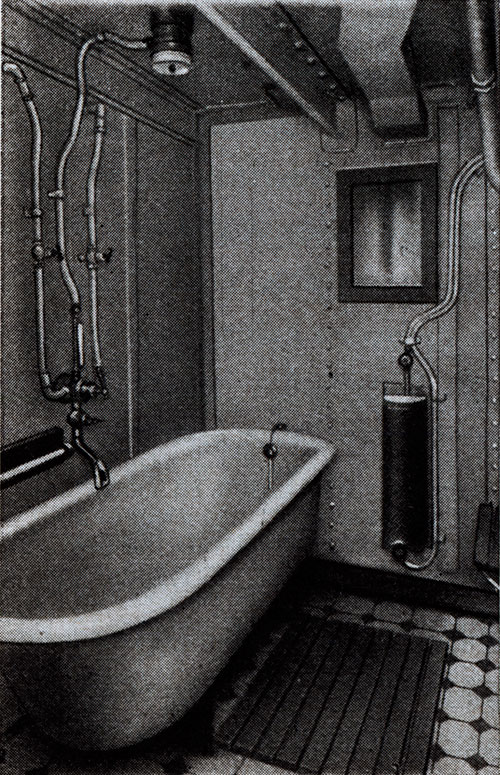 Third-Class Bath on the S.S. Deutschland
