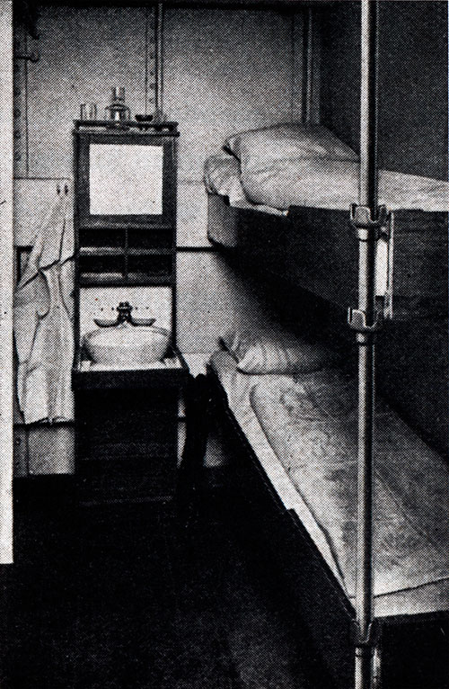 Third-Class Stateroom on the S.S. Deutschland