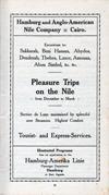Pleasure Trips on the Nile