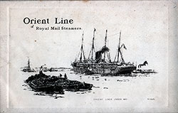 1899-04-28 Ships List for the R.M.S. Orient