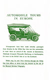 Automobile Tours In Europe