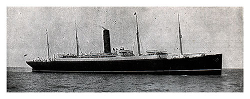 The R.M.S. Carpathia of the Cunard Line, Rescue Ship of the Titanic