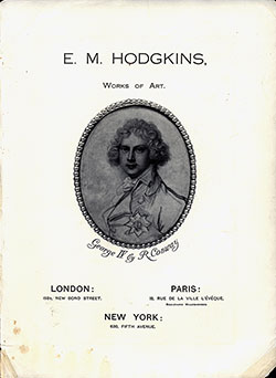 E. M. Hodgkins Works of Art