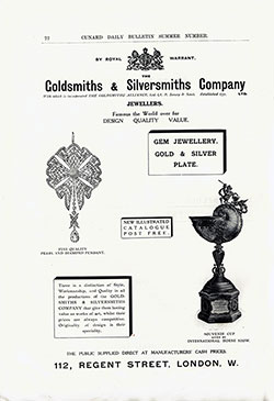 Goldsmiths' and Silversmiths' Company, Ltd.,
