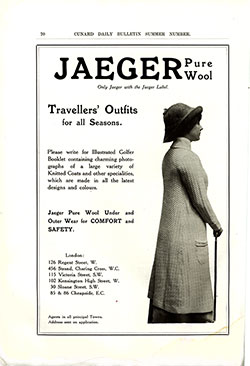 Jaeger Pure Wool Travellers' Outfits for All Seasons