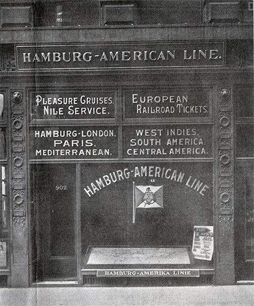 HAPAG Office in St. Louis, MO ca 1909