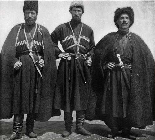 Cossack Immigrants, of whom about 5,500 were admitted in	1906.