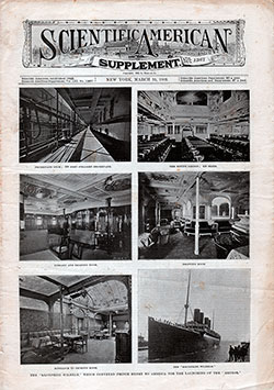 Front Cover - Scientific American Supplement, 15 March 1902