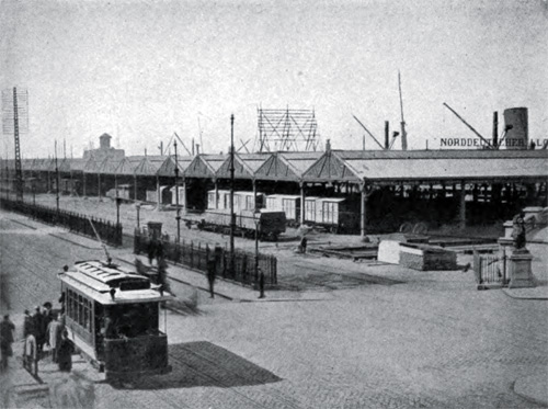 Open Sheds on the River Quays