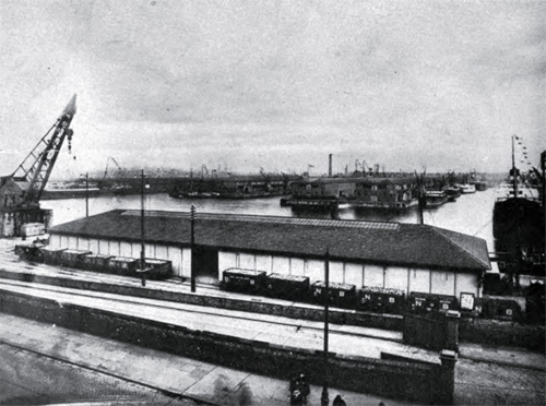 Photo 5: View of Princes Dock Looking Eastward Showing Double Story Sheds