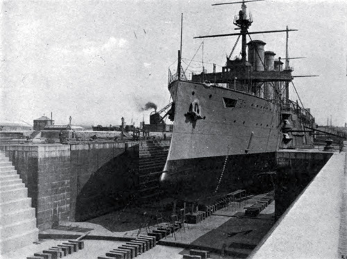 Photo 8: Graving Dock No. 3 Built in 1896 at a cost of $1,318,936