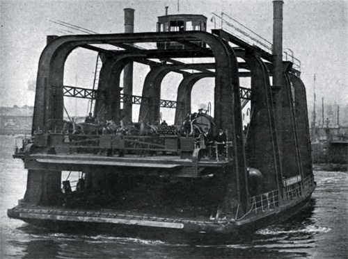 Photo 9: Vehicular Ferry Steamer with Elevating Platform