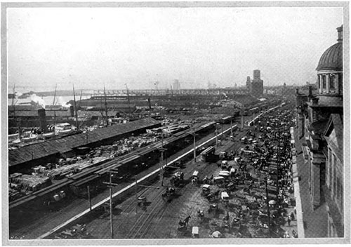 Port of Montreal ca 1908