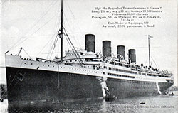SS France of CGT Frech Line