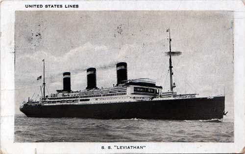 S.;S. Leviathan of the United States Lines (1927)