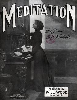 Meditation by A. KIMBALL | Sheet Music for Piano