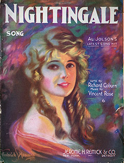 Nightingale Song, 1920