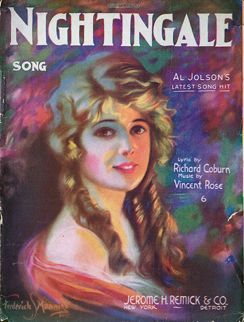 Front Cover, Nightingale Song