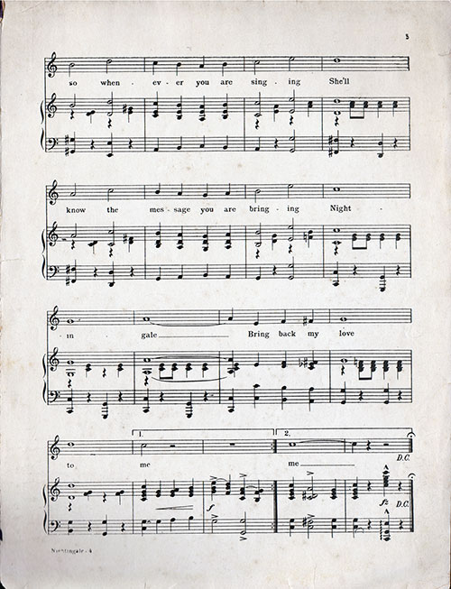 Misic for Piano, Page 4
