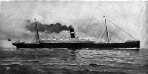 The R.M.S. Tunisian of the Allan Line -- a Twin Screw Steamer