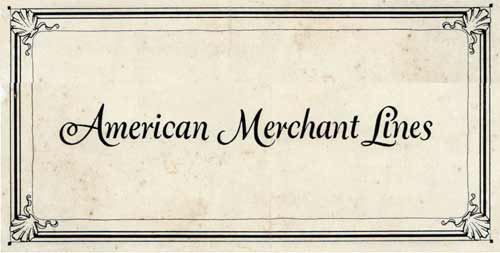 Passenger Lists of the American Merchant Lines