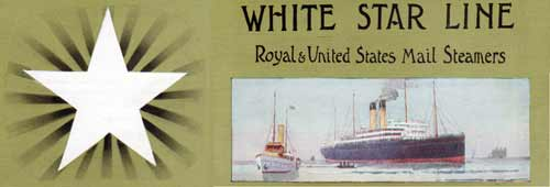 Passenger Lists from the Westbound Voyages of the White Star Line