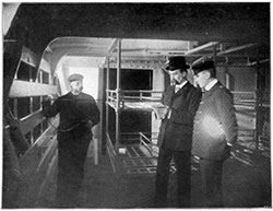 Examining Steerage Sleeping Accommodations in 1908