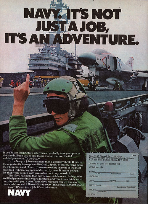 Navy. It's Not Just A Job, It's An Adventure (1975)