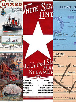 Immigrant Ship Ephemera