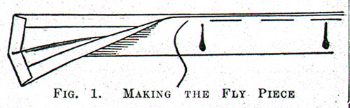 Figure 1: Making the Fly Piece