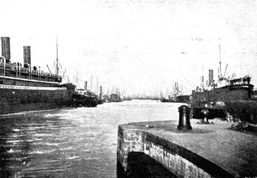 New Dock, Bremerhaven 1907
