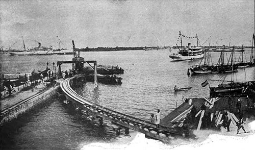 Port of Dar es Salaam in 1907