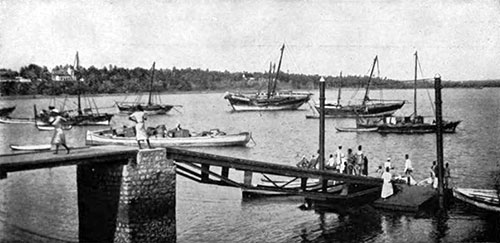 Port of Mombasa, Kenya - 1907