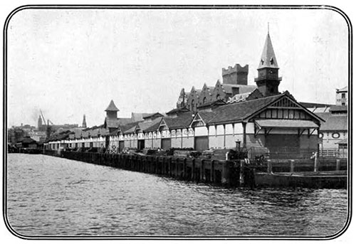 Offices of the Sydney Harbour Trust in 1907