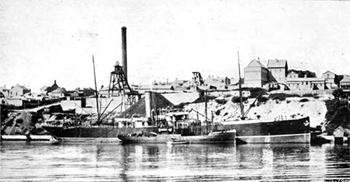 Sydney Harbour Collieries in 1907