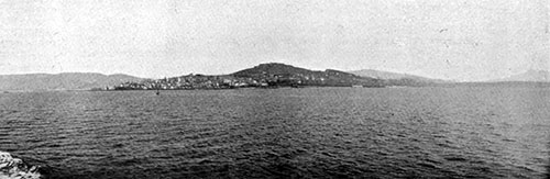 General View of Vigo, Spain in 1907