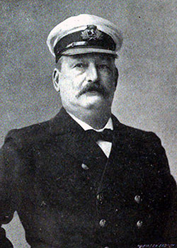 Captain John Pritchard, Cunard Captains and Chiefs, 1905.