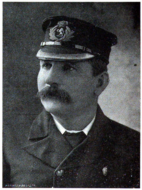 Captain Thomas Potter, Cunard Captains and Chiefs, 1905.