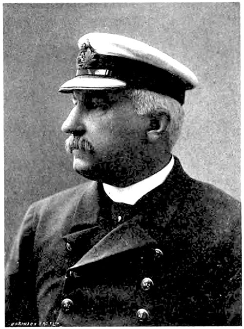 Captain R. C. Warr, Cunard Captains and Chiefs, 1905.