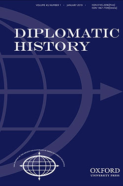 Diplomatic History, Volume 43, Issue 1, January 2019