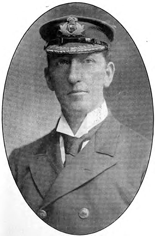 Captain Edward R. McKinstry of the White Star Line.