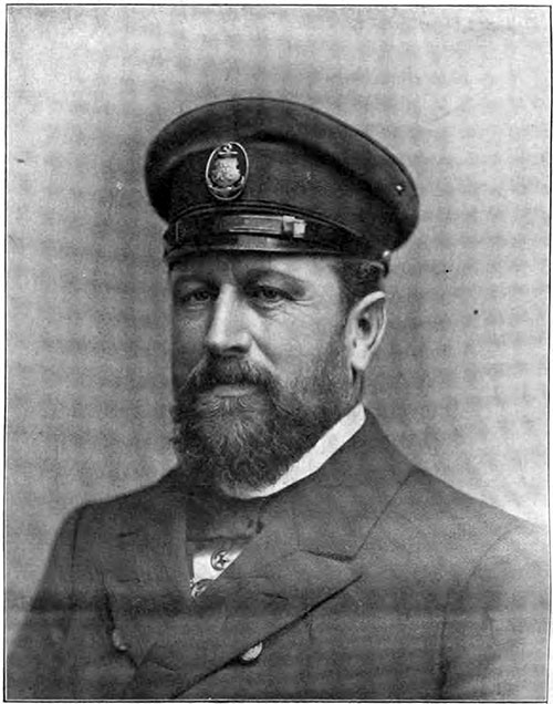 Captain Adolph Albers, Four Popular Commanders of The Hamburg America Line.